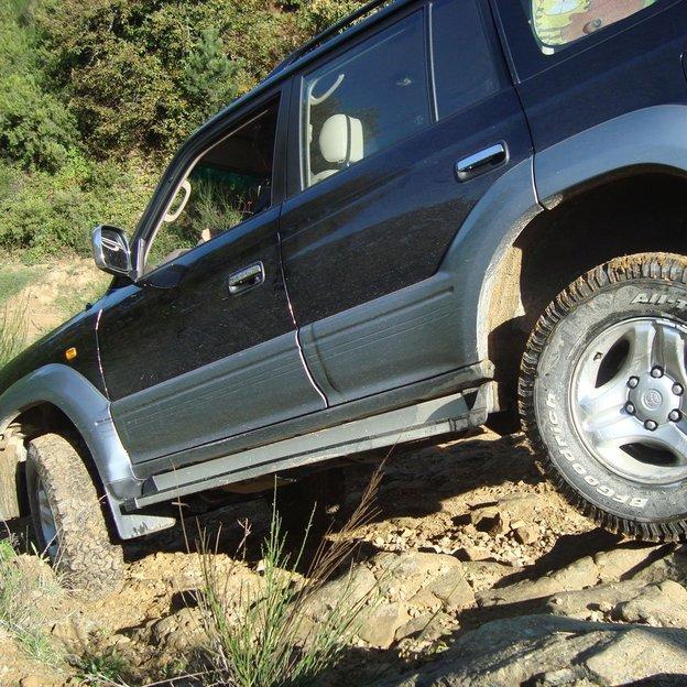 Entreprises: Conduite Off-road avec véhicule personnel ou de location