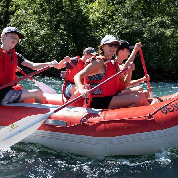 Schlauchbootfahrt auf der Aare von Uttigen nach Bern (3 bis 6 Personen)