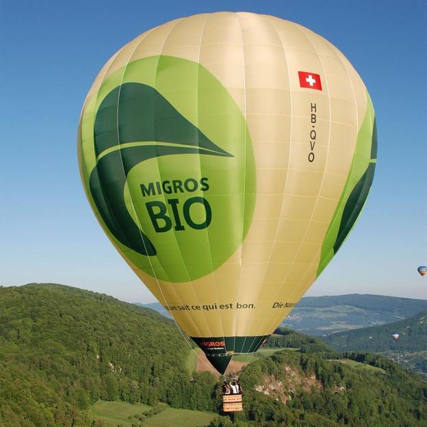 Ballonfahrt über dem Baselbiet (90 Minuten)