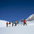 Panorama Schneeschuhwanderung