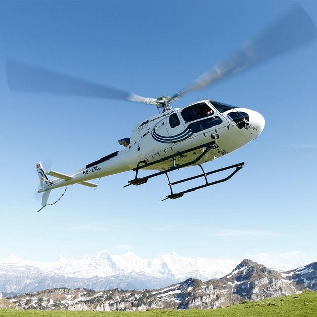 Bern City Helikopterflug (für 1 Person)