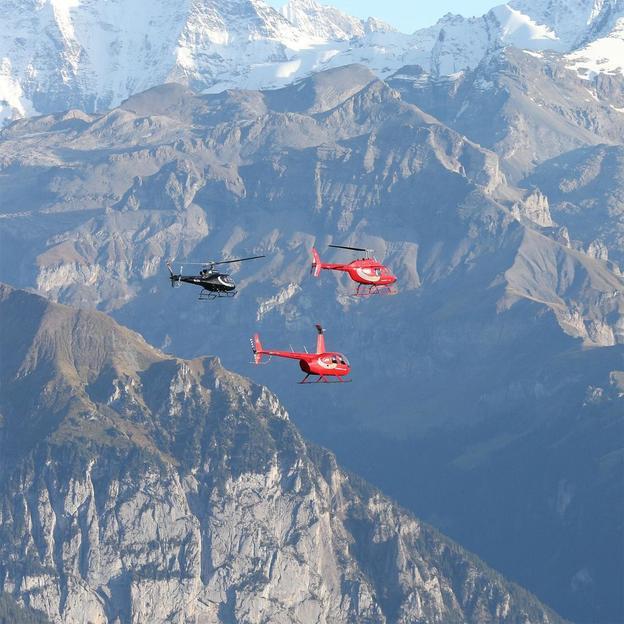 Firmen: Thunersee Helikopterflug