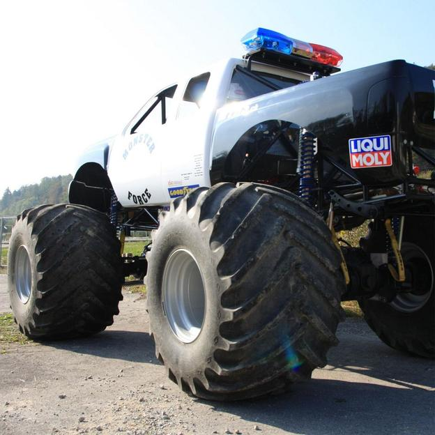 monster truck selber fahren