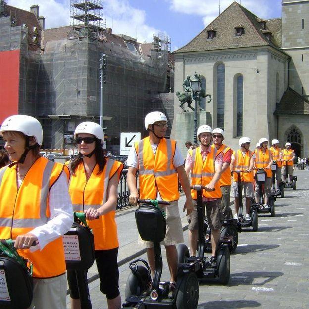 Die offizielle Segway Stadtführung Zürich