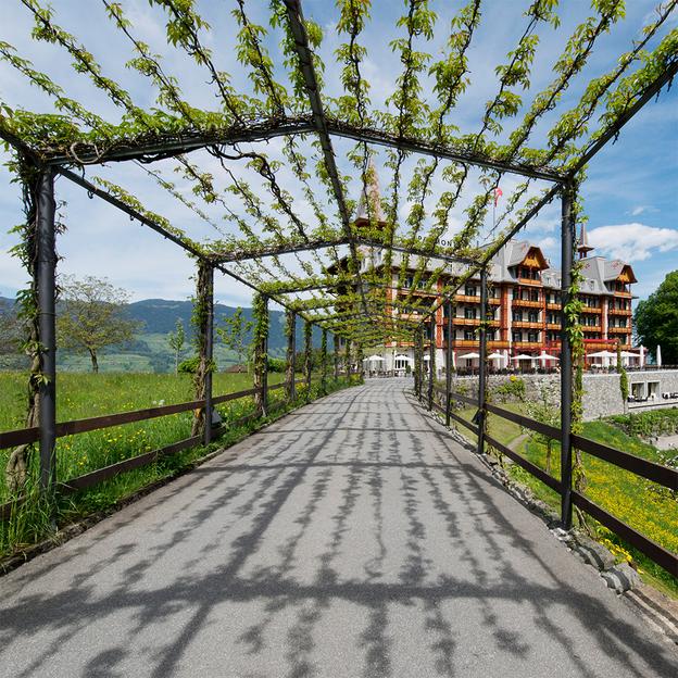Übernachtung mit Aussicht auf den Sarnersee und die Obwaldner Bergwelt