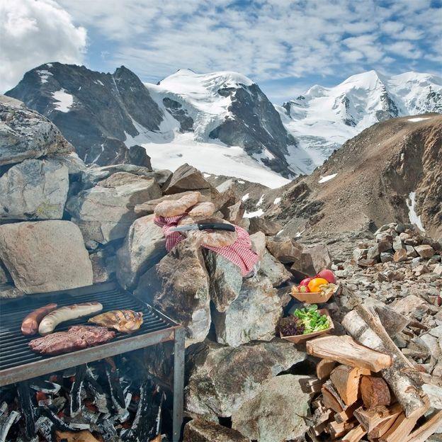 Hochgefühl im Berghaus auf 3000 m.ü.M.