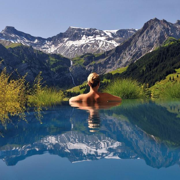 Wellness meets Design in Adelboden