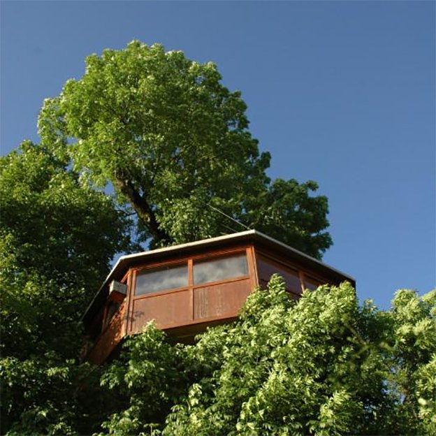 1 nuit insolite dans les arbres (semaine et hors vacances)