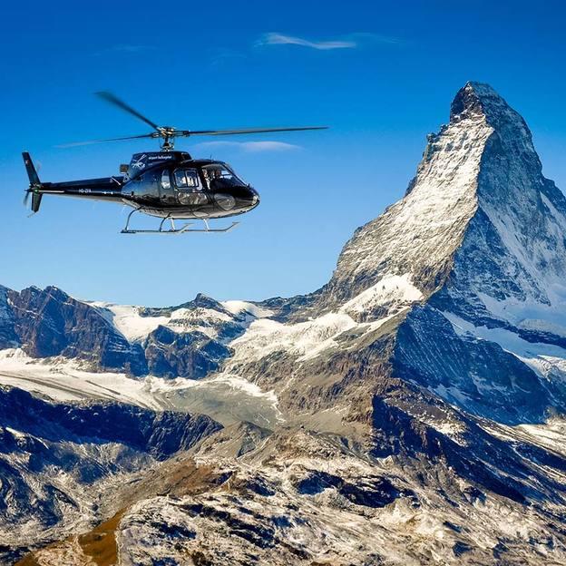 Romantik Weekend mit dem Helikopter (Gletscherflug / Matterhorn)