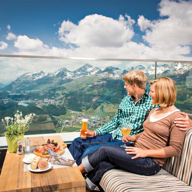 Romantisches Champagner Frühstück auf 2456 m.ü.M.
