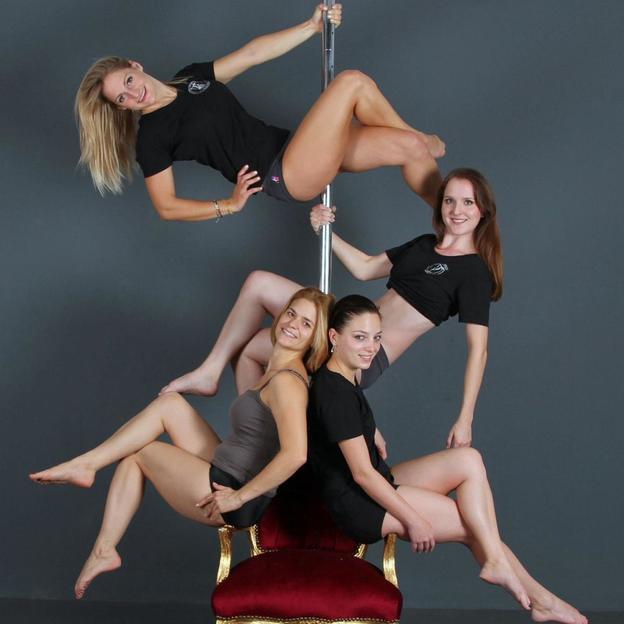 Poledance Polterabend Workshop für Frauen und Männer