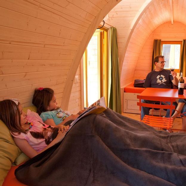 Übernachtung im grossen PODhouse (bis 6 Personen)