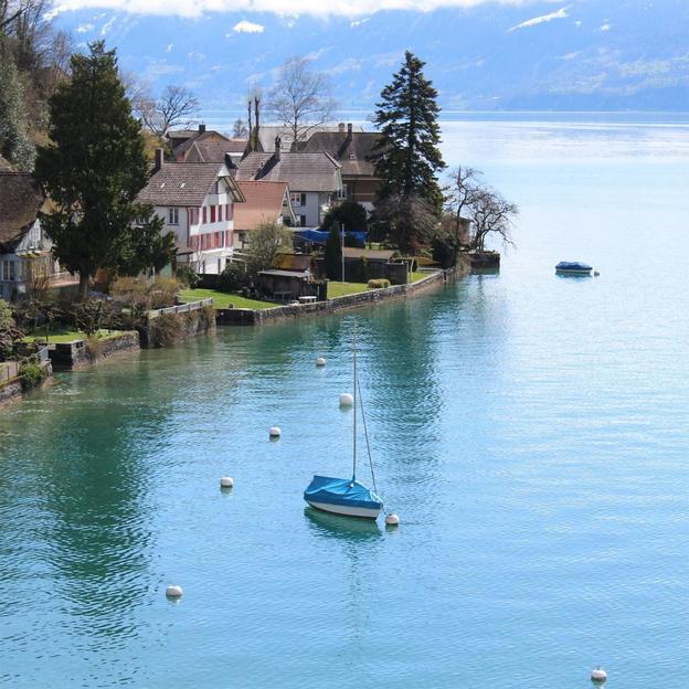 Séjour romantique au lac de Thoune