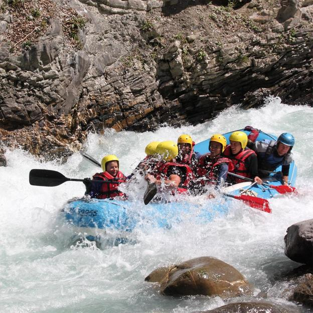 Halbtagesfahrt Rafting Landquart (Erwachsene)