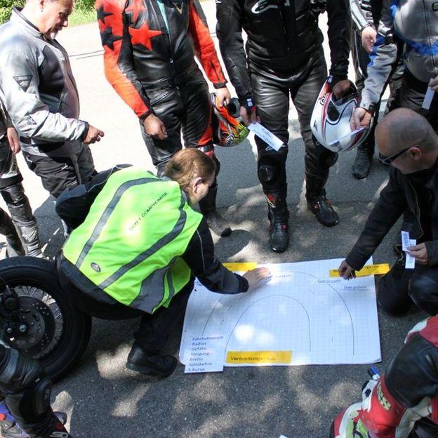 Schräglagen Training für Sportfahrer bis Cruser