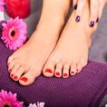 Pédicure Shellac & Beauté des pieds à la Paraffine