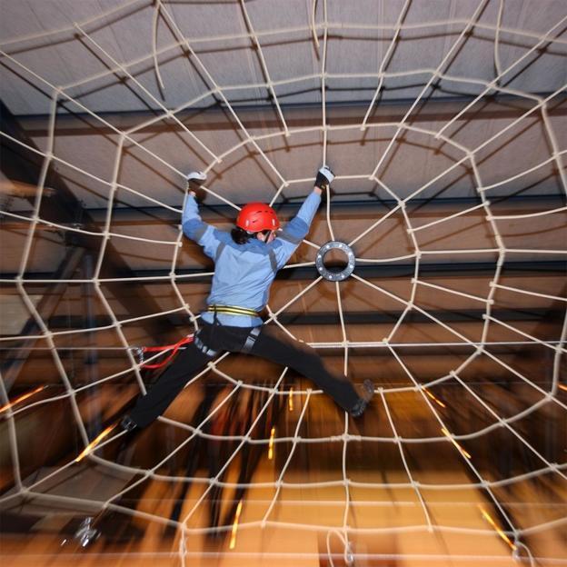 Grösster Indoorseilpark Europas (Eintritt Jugendliche)