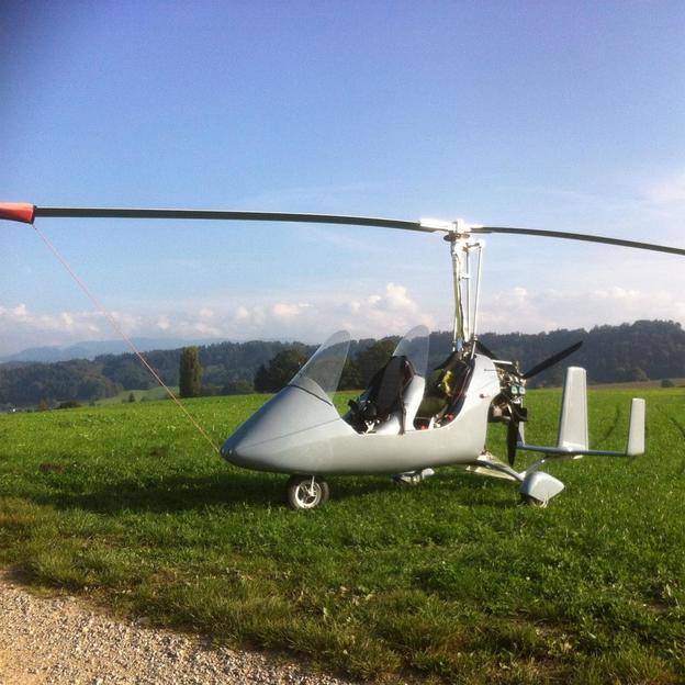 Ultraleichtfliegen mit dem Gyrokopter