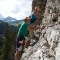 Grundkurs Klettern am Fels (2 Tage)