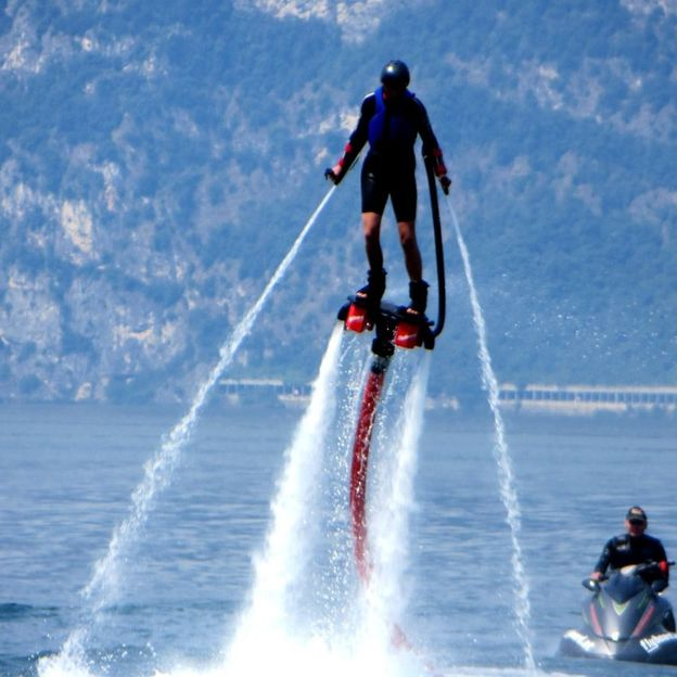 Flyboard Kurs in der Slowakei
