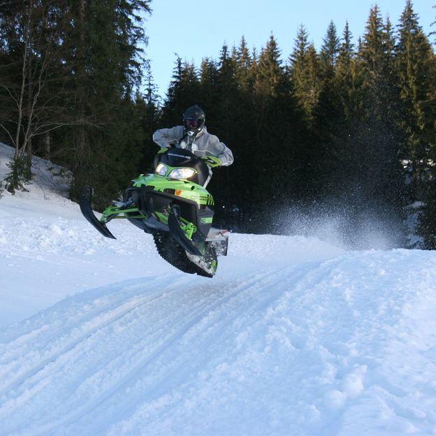 Snowmobile fahren in Kärnten (Österreich)