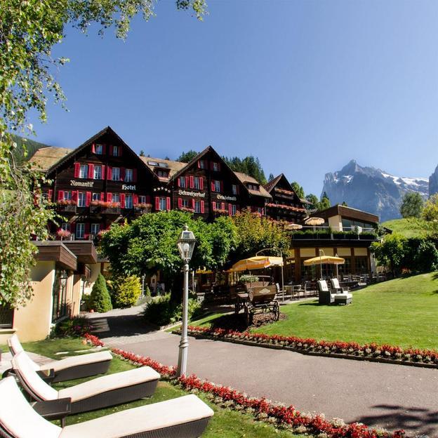 Romantisme à deux à Grindelwald