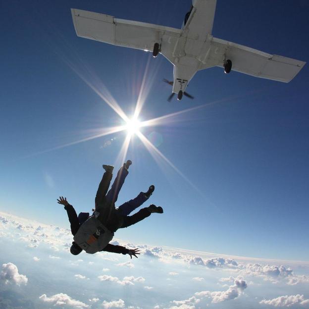 Tandem Fallschirmsprung (Werktags)