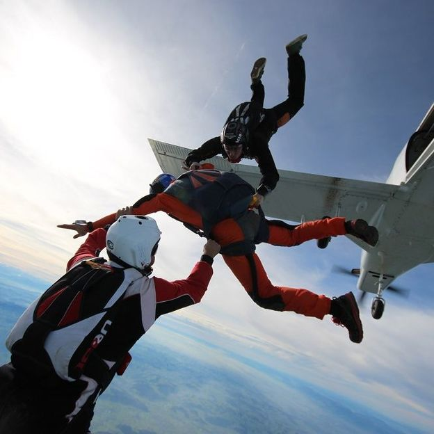 Parachute - Saut en solo accompagné (vendredi)