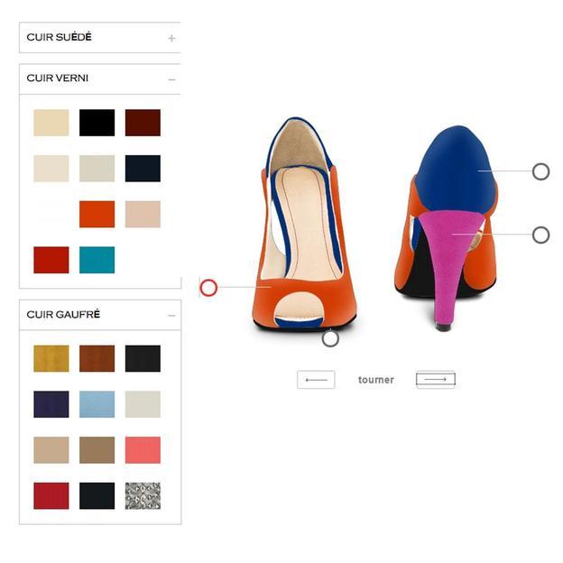 Personnalisez vos escarpins