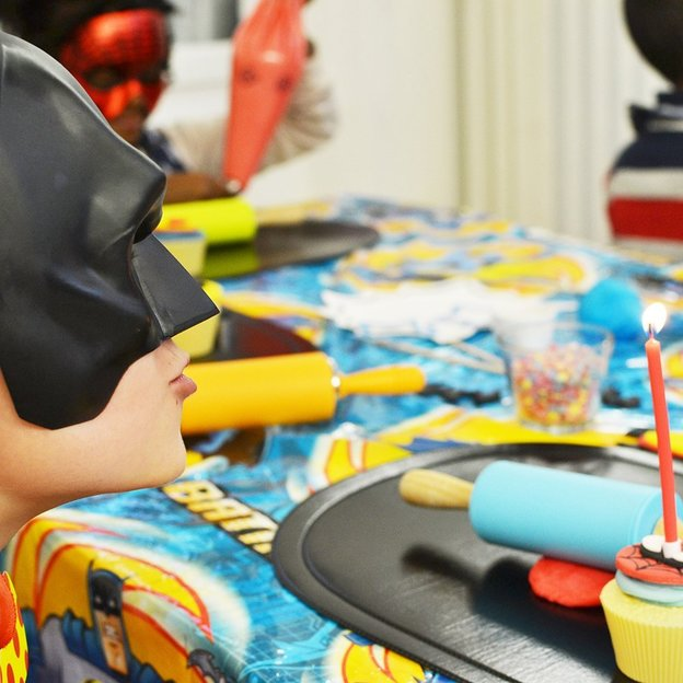 Atelier Cupcakes Super-héros (max 10 enfants)