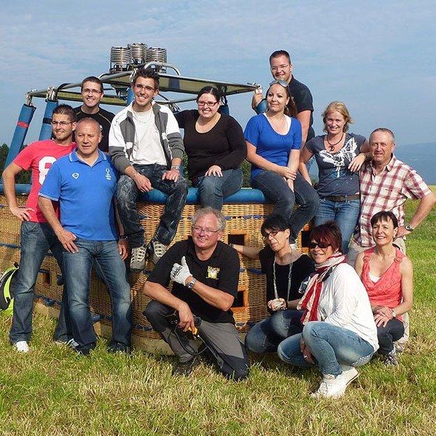 Firmen: Team-Ballonfahrt (ca. 2.5 Stunden)