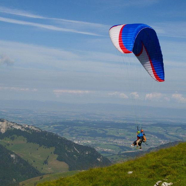 Paragliding Rundlfug in Freiburg