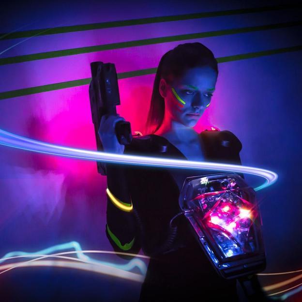 Lasertag für Erwachsene in Zürich (1 Stunde)
