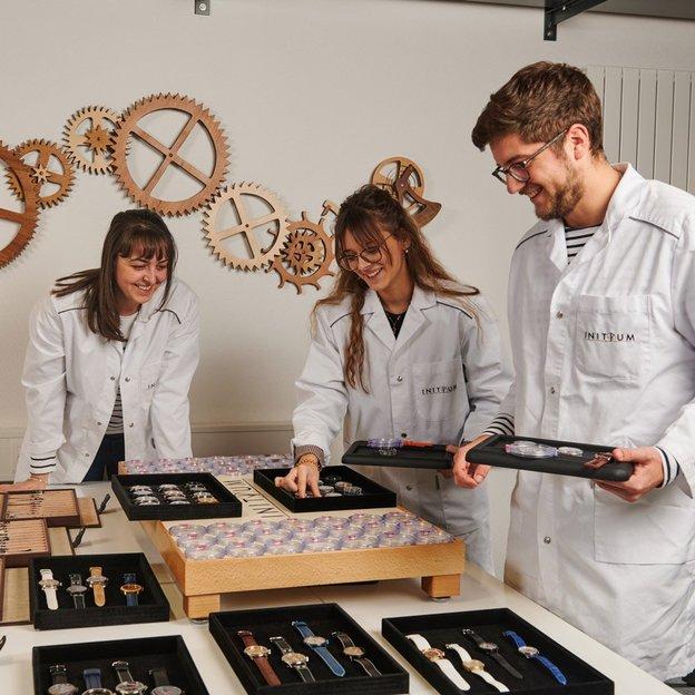 Atelier Initium pour Amateurs de mécanique horlogère