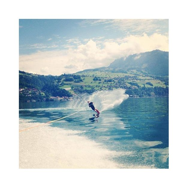 Wakeboard sur le lac de Thoune