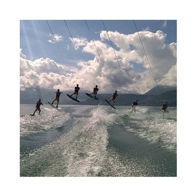 Wakeboarden auf dem Thunersee
