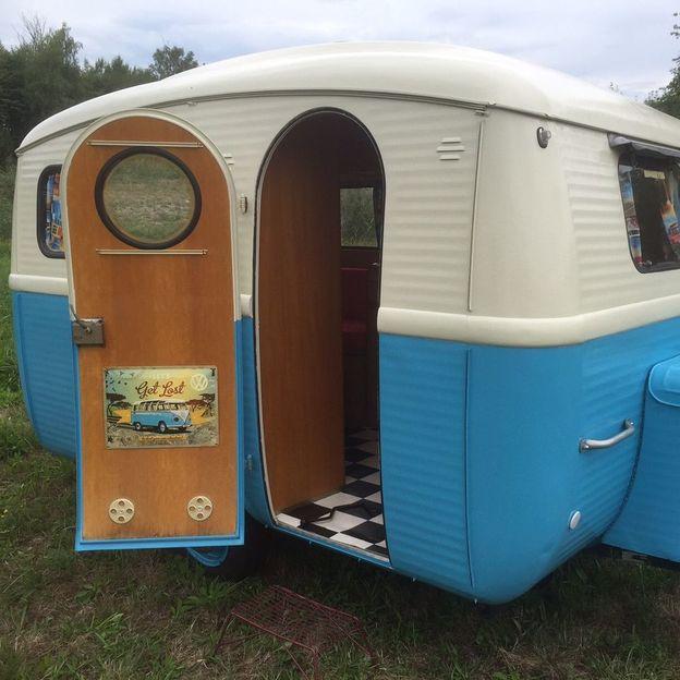 Vintage Wohnwagen mieten