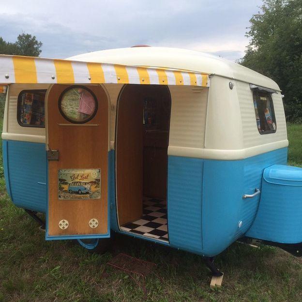 Vintage Wohnwagen für eine Woche mieten