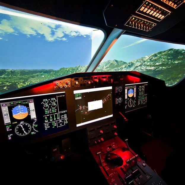 Firmen: Erlebnis Flugsimulation
