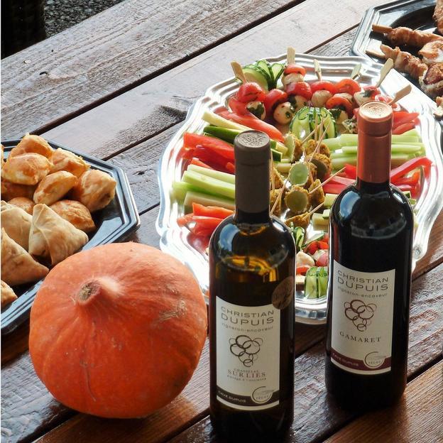 Degustation von speziellen Weinen