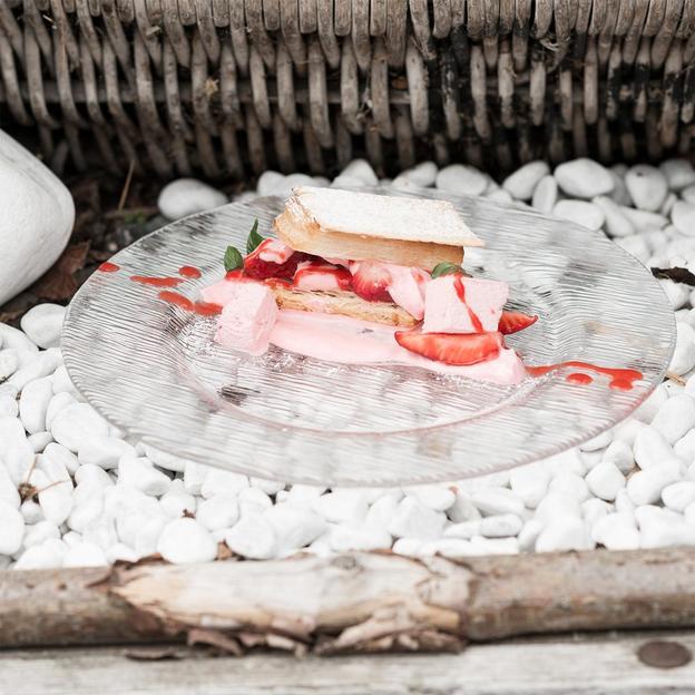 Menu gourmet 7 plats dans un hôtel romantique