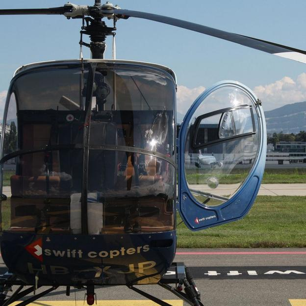 Vol d'initiation Hélicoptère Genève