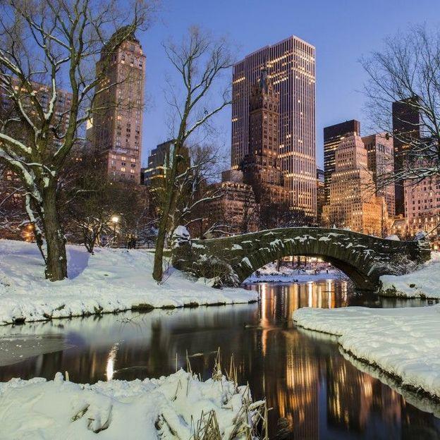 Weihnachtszauber in New York