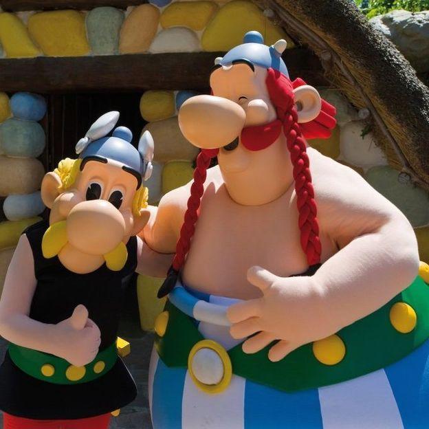 Familienurlaub: Paris & Park Asterix