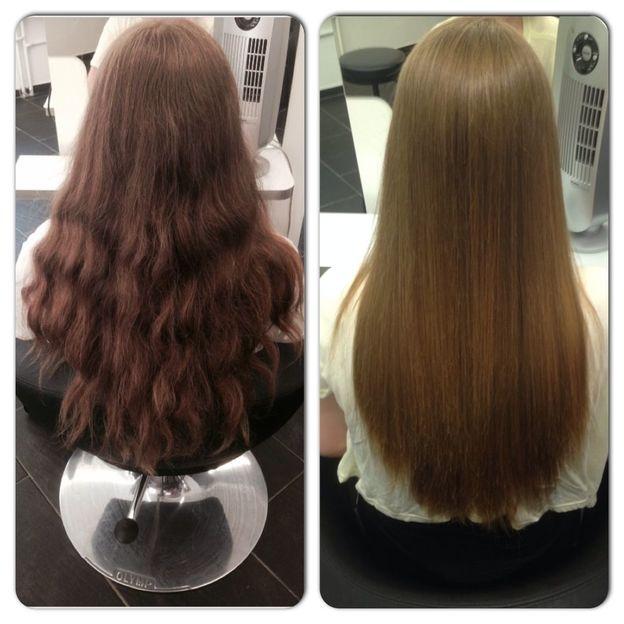 Keratin Behandlung für jede Haarlänge