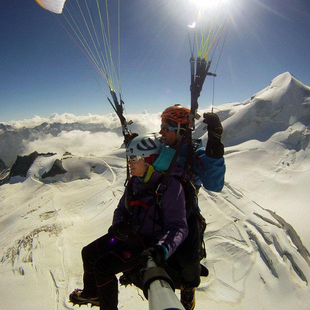 Exklusives Familien Paragliding (3 Personen)