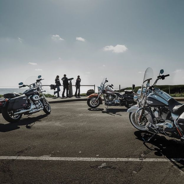 Location Moto Style Touring ou Softail (3 jours)