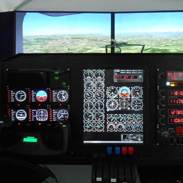 Simulatorflug im Flugzeug deiner Wahl (1 Stunde)