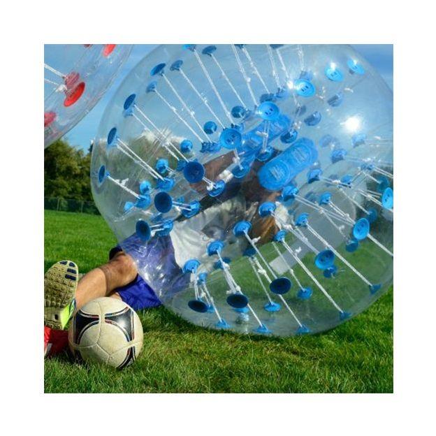 10 Bubble Fussbälle für 24h mieten
