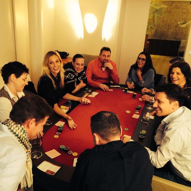 Firmen: Pokernight für Anfänger und Profis